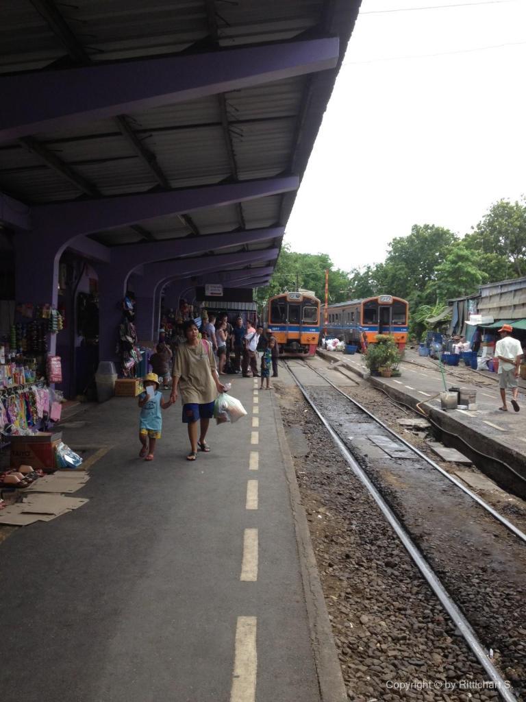 สถานีรถไฟมหาชัย